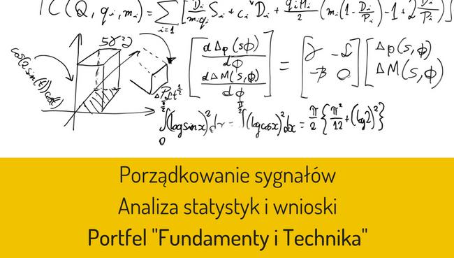 Technika i Fundamenty – porządki w sygnałach