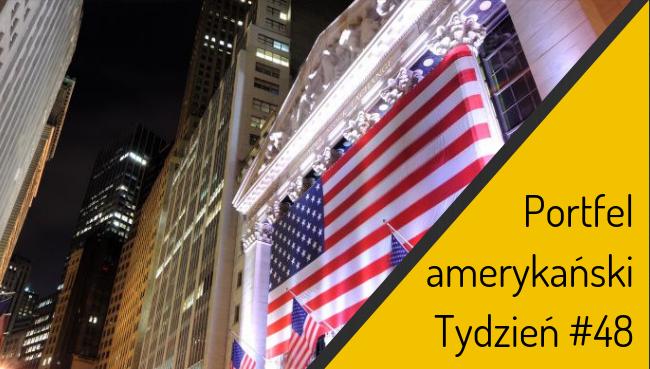 Portfel amerykański – zmiana akcentów