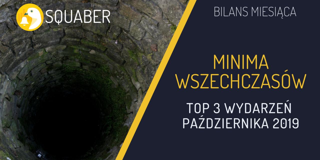 Minima WSZECHCZASÓW – top 3 wydarzeń października 2019