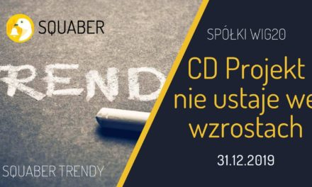 CD Projekt nie ustaje we wzrostach! Analiza Squaber Trendy Grudzień 2019