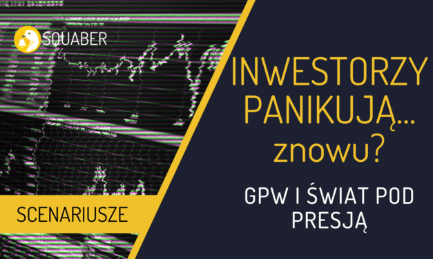 Powtórka z paniki z marca na GPW?