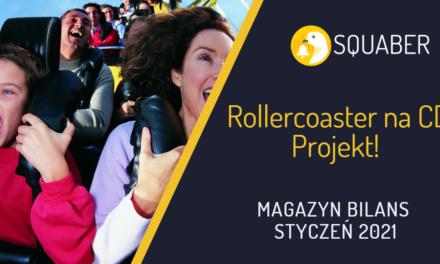 Słaby koniec miesiąca na S&P! Rollercoaster na CD Projekt!