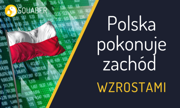 Polska pokonuje zachód wzrostami